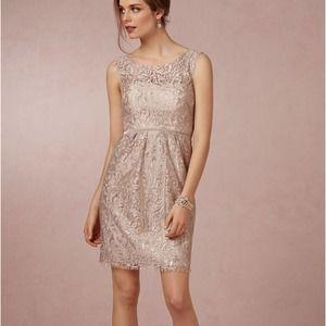 BHLDN Yenny Yoo Harlow Bridesmaid Dress Champagne